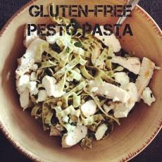 Gluten Free Chicken Pesto Pasta