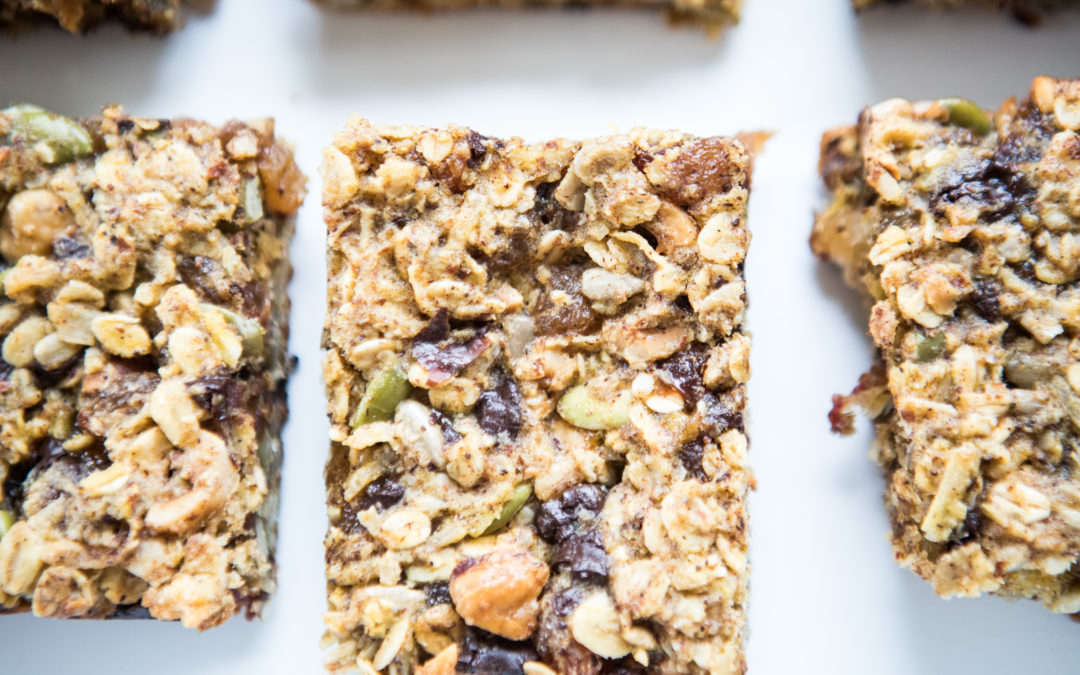 30-Minute One-Bowl Muesli Bars