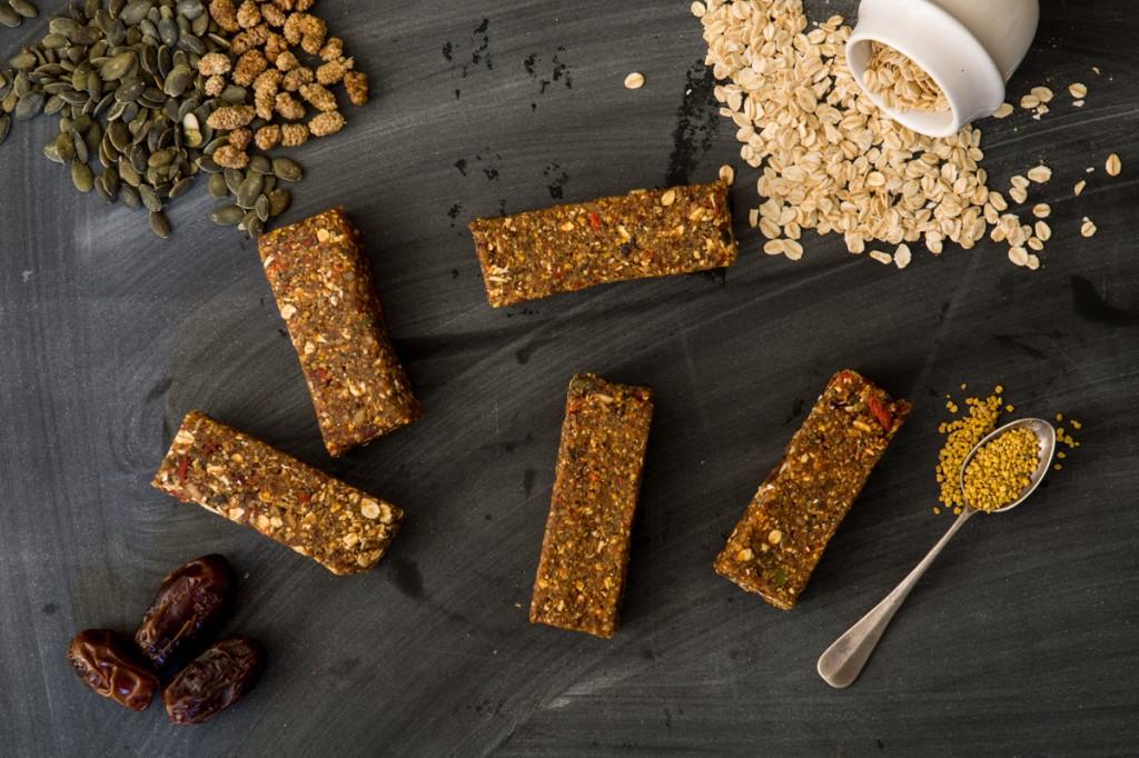 Raw Nut & Seed Slice | Nadia Felsch