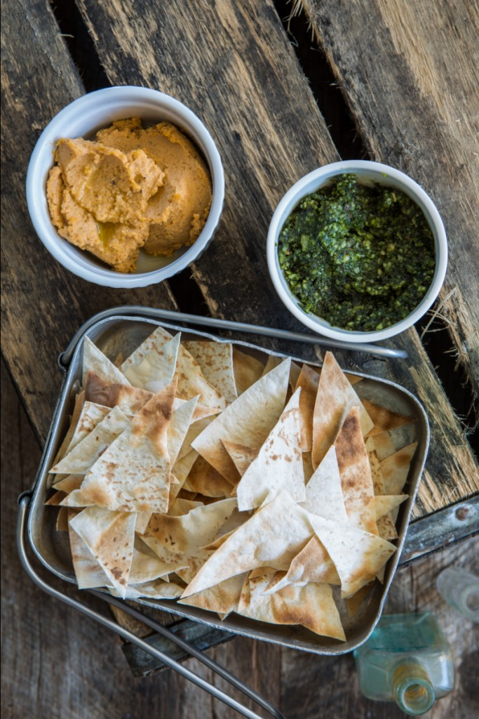 Dips & Crackers - The Clean Way | Nadia Felsch