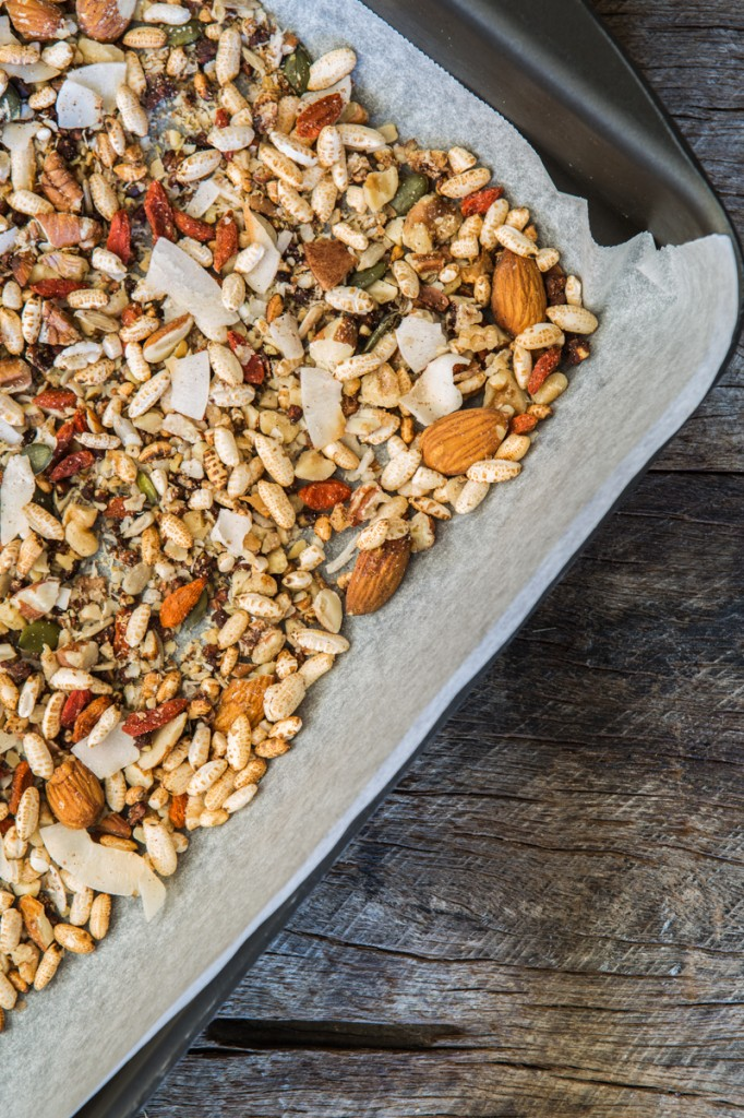 Gluten-free Granola | Nadia Felsch