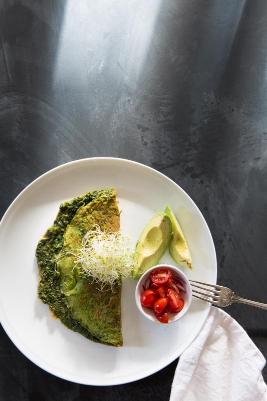 Green Omlette | Nadia Felsch