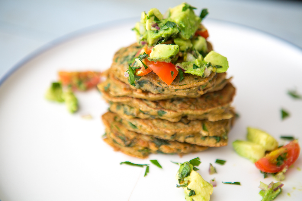 Green Quinoa Fritters | Nadia Felsch