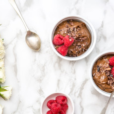 Simple, Vegan Cacao Mousse