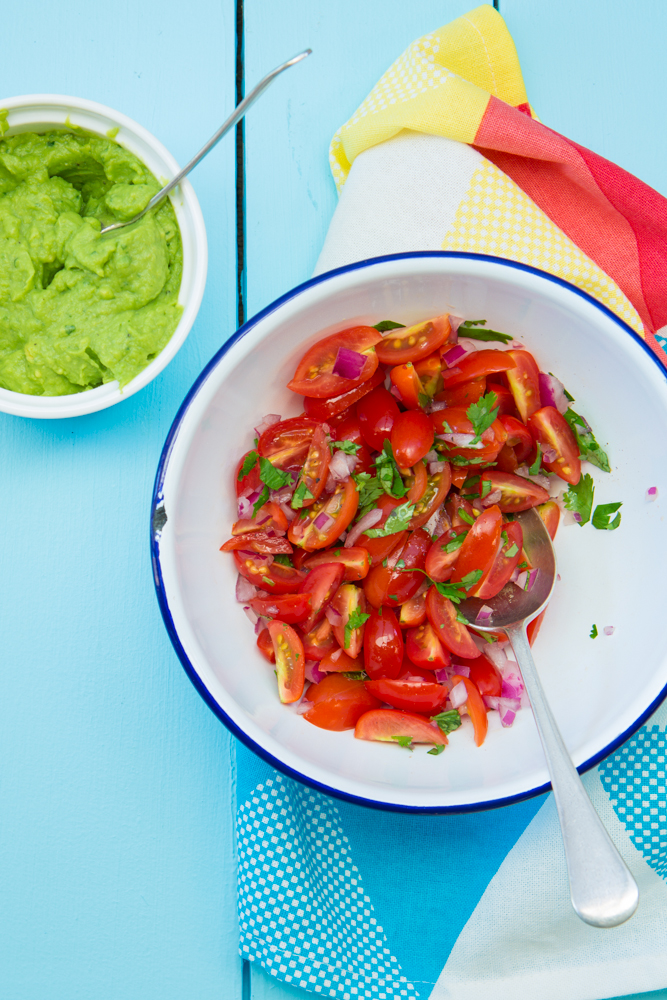 Healthy Veggie Nachos | Nadia Felsch