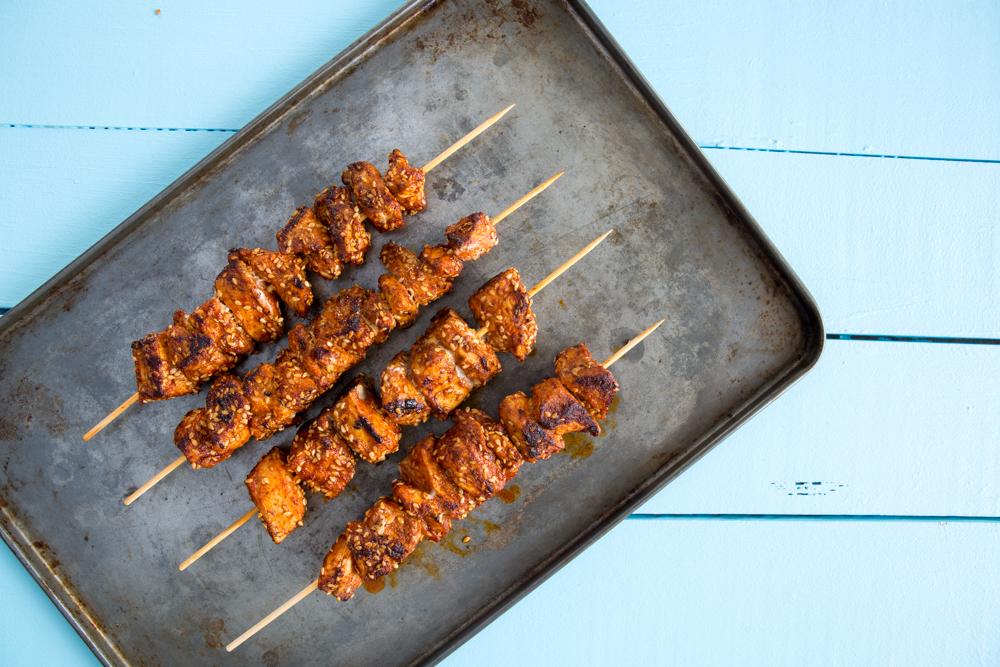 Moroccan Chicken Skewers | Nadia Felsch
