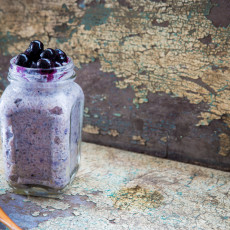 Coconut & Blueberry Chia Pudding