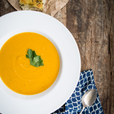 Pumpkin & White Bean Soup