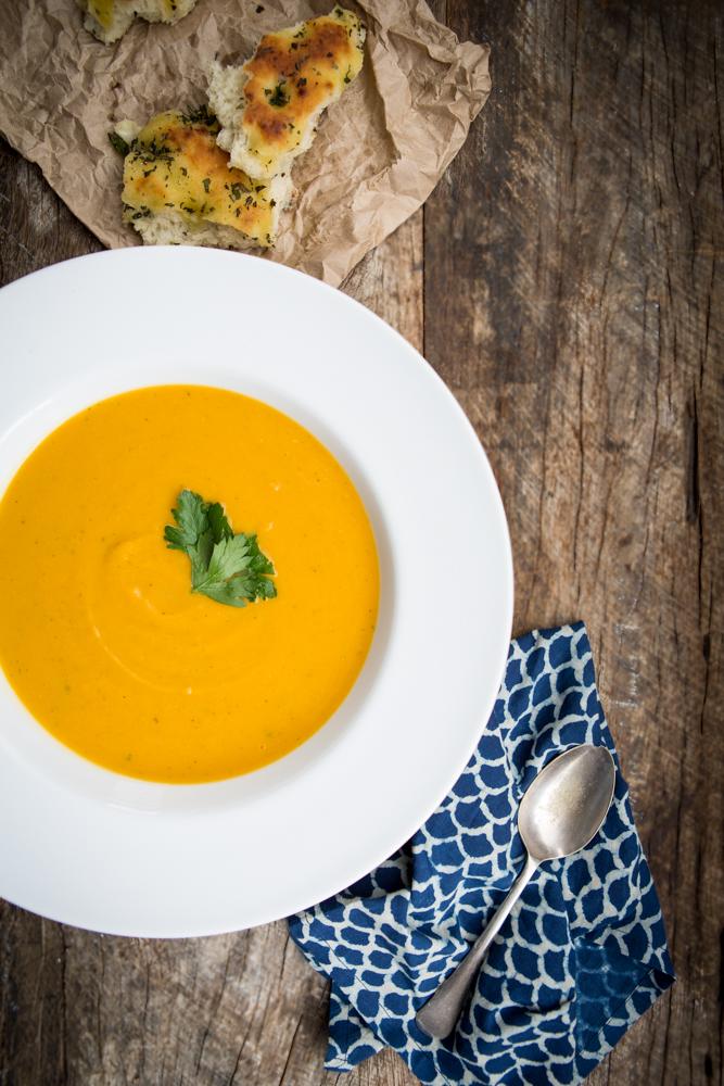 Pumpkin & White Bean Soup