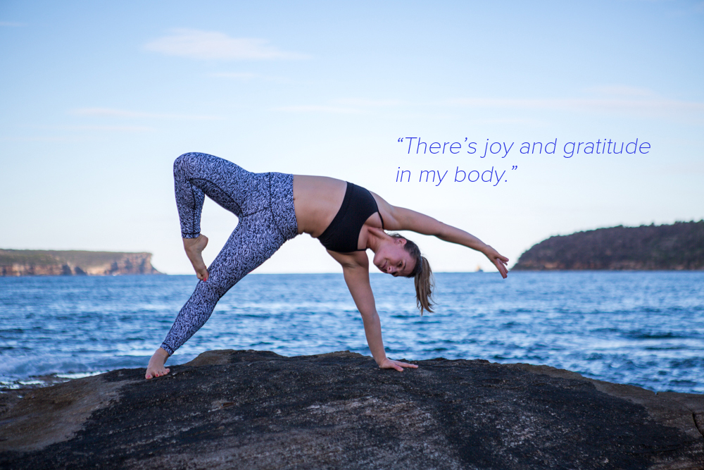 Nadia Felsch Yoga Quote