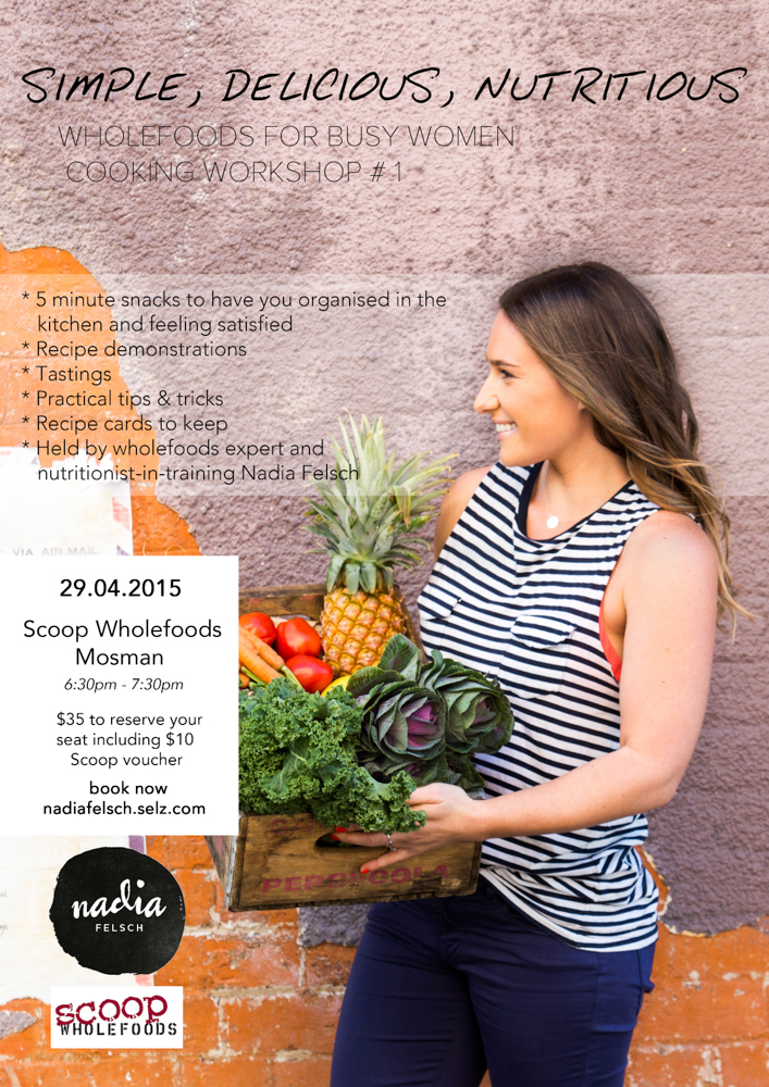 scoop workshop poster for newsletter