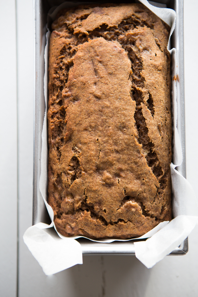 Healthy Banana Bread | Nadia Felsch