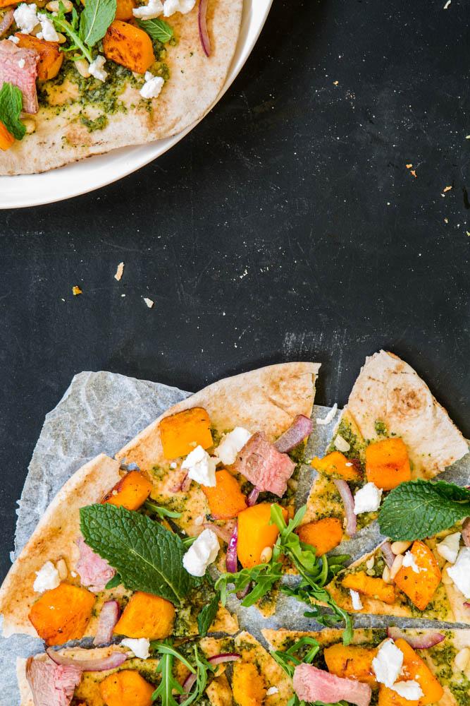 Lamb Pizza | Nadia Felsch