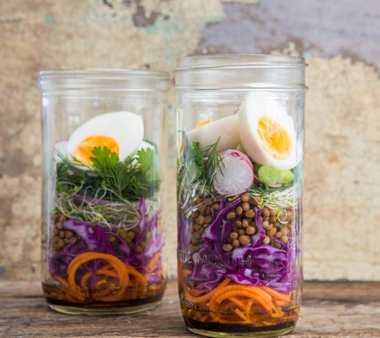 Salad Jar | Nadia Felsch