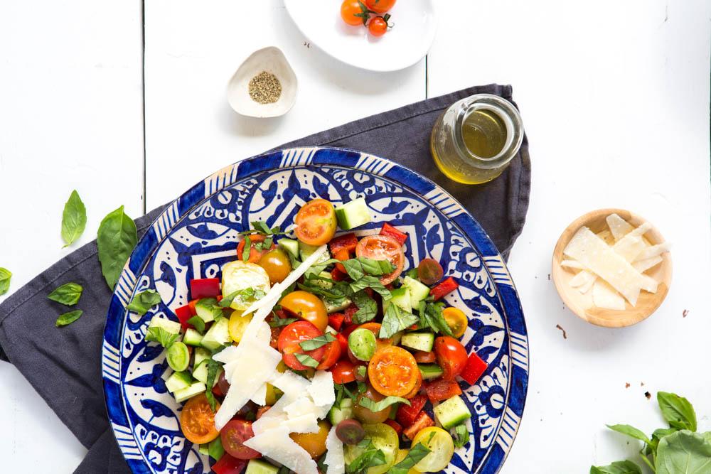 Italian Summer Salad | Nadia Felsch