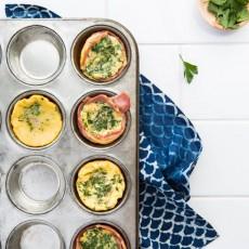 Egg & Bacon 'muffins' | Nadia Felsch