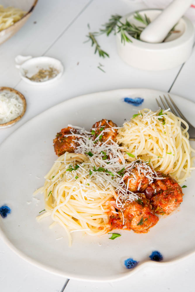 Spaghetti & Meatballs | Nadia Felsch