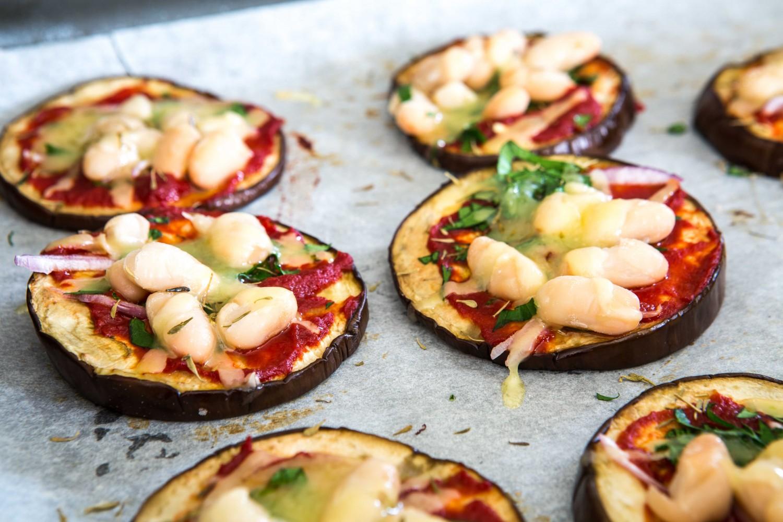 Eggplant Pizzettas | Nadia Felsch