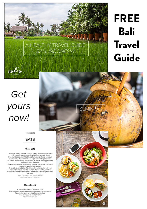 Bali Travel Guide | Nadia Felsch