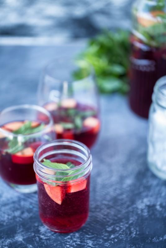 Sparkling Iced Tea | Nadia Felsch