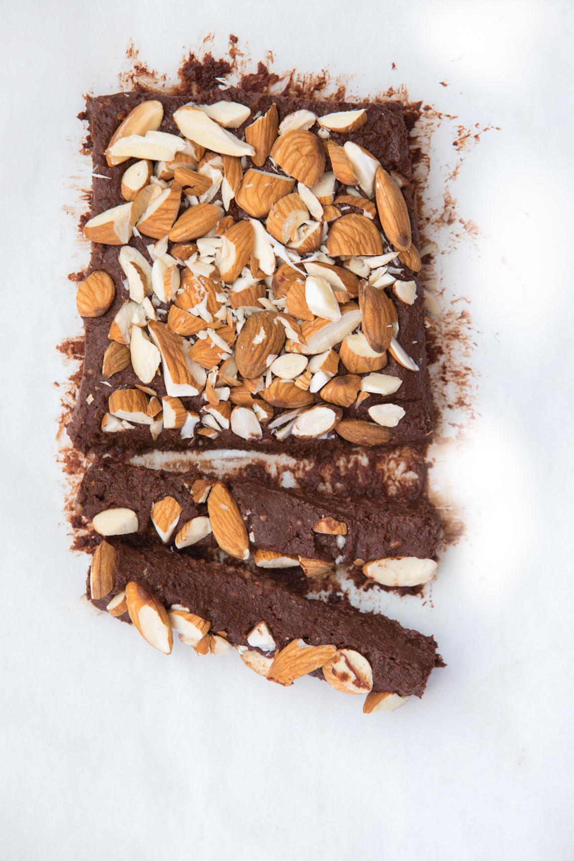 Raw Cacao Fudge Brownie