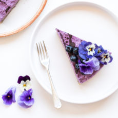 Raw Blueberry Cheesecake | Nadia Felsch