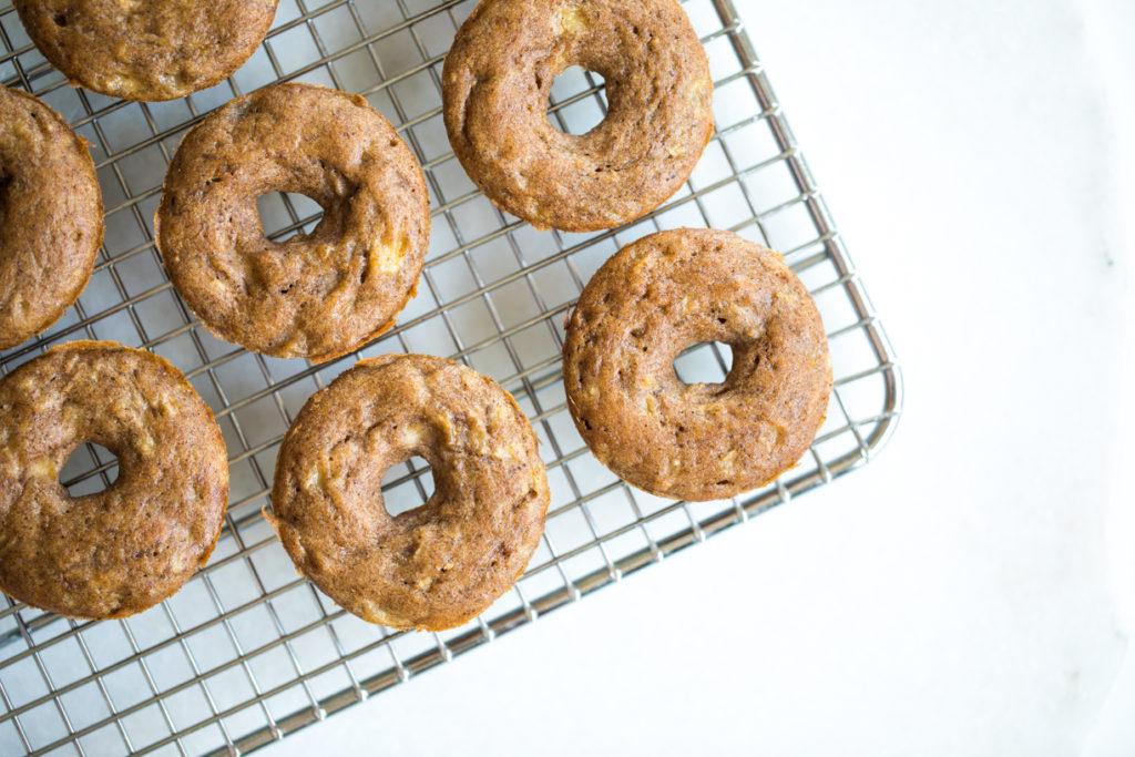 Banana Bread Donuts | Nadia Felsch