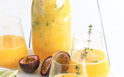 Mango, Passionfruit, Lime & Thyme Spritzer