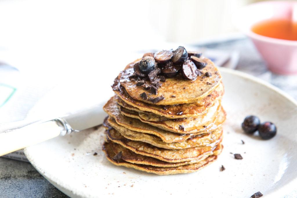 4-ingredient pancakes   Nadia Felsch