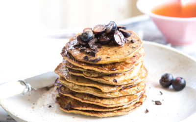 4-ingredient pancakes