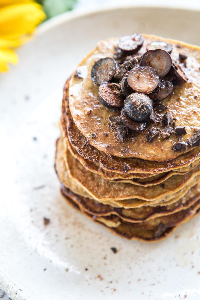 4-ingredient pancakes | Nadia Felsch