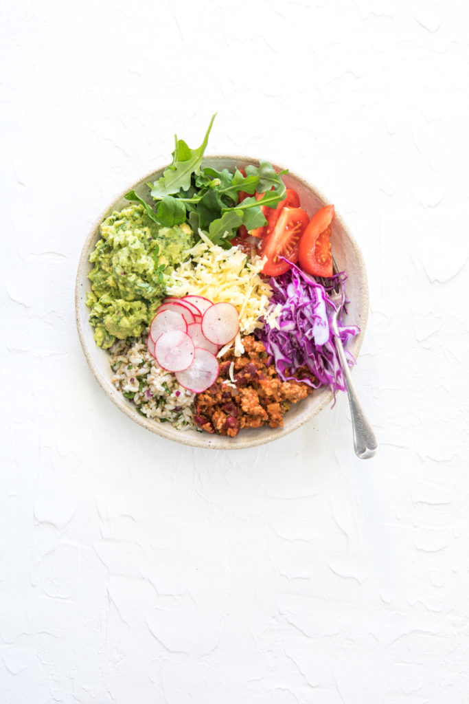 Healthy Burrito Bowl | Nadia Felsch