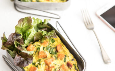 Sweet Potato & Haloumi Frittata