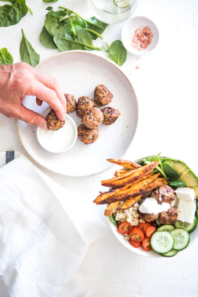 Gluten-Free Meatballs | Nadia Felsch