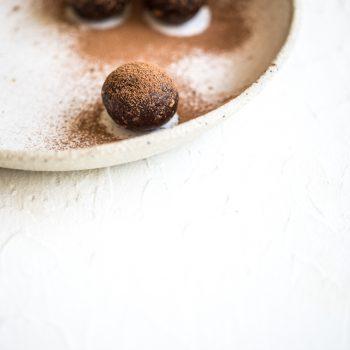 Raw Cacao Hazelnut Energy Balls