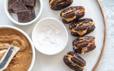 Nut Butter & Chocolate Dates